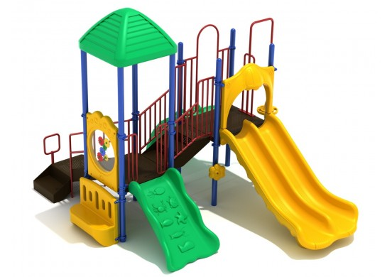 Nautical Nest Commercial Steel Play System - INSTALLED
