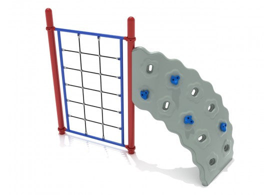 Rope Climber Commercial steel play structure