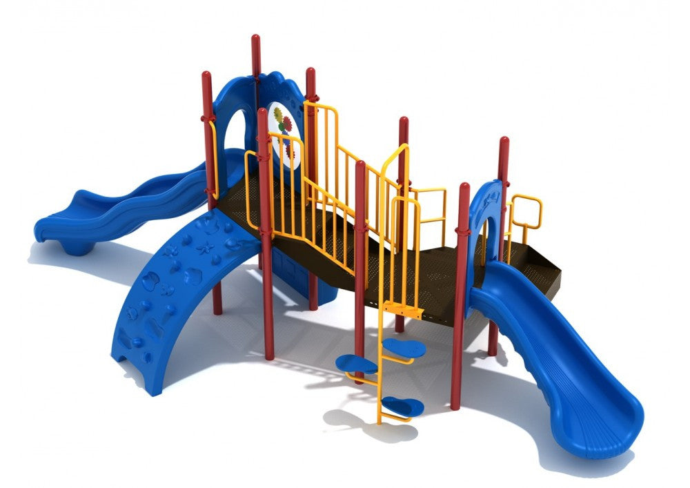 Coleman's Bluff Commerical Steel Play System