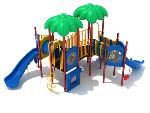 Bahama Breeze Commercial Steel Play System - INSTALLED
