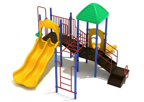 Pearl Bay Commercial Steel Play System - INSTALLED