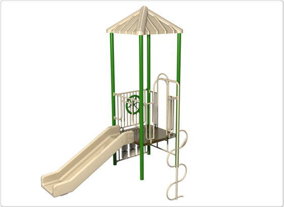 Dunes Commercial Steel Play System - INSTALLED