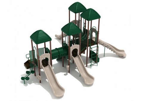 Secret Garden Commercial Steel Play System - INSTALLED