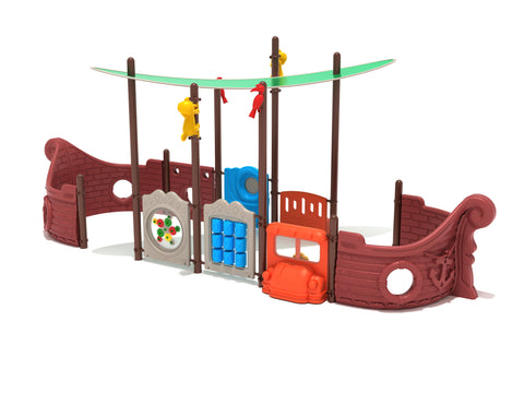 Walk the Plank Commerical Steel Play System