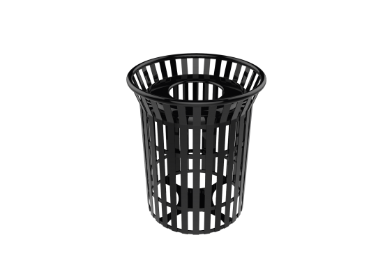 Skyline Trashcan -  Installed