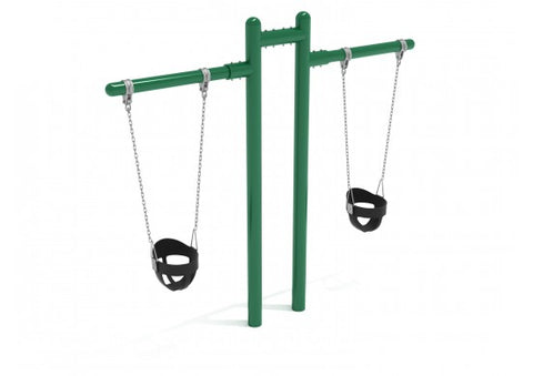 T Swing Commerical Steel  Installed