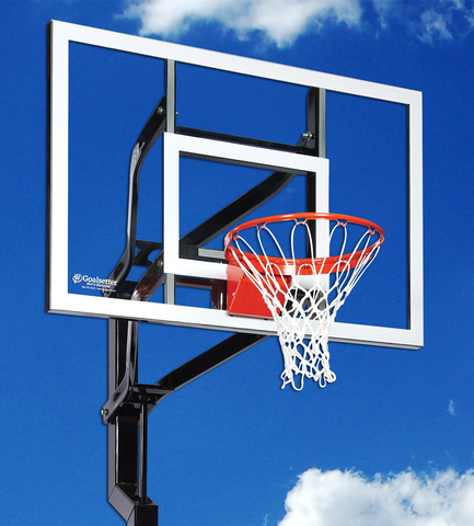 "Signature Series - Contender 54"" In-Ground Basketball Goal - Black Friday DEAL - $200 OFF"
