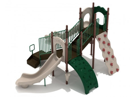 Oak Ridge Commercial Steel Play System - INSTALLED