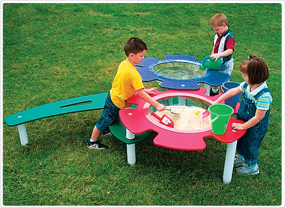 Sand and Water Table - Installed