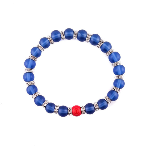 Blue Ice Bracelet - Made by Oddball - 1