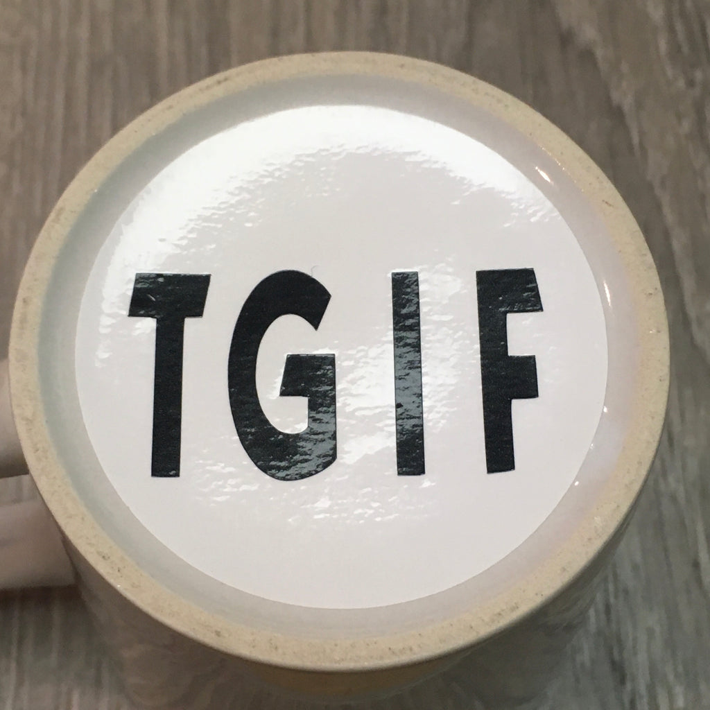 TGIF? One day closer to Monday!