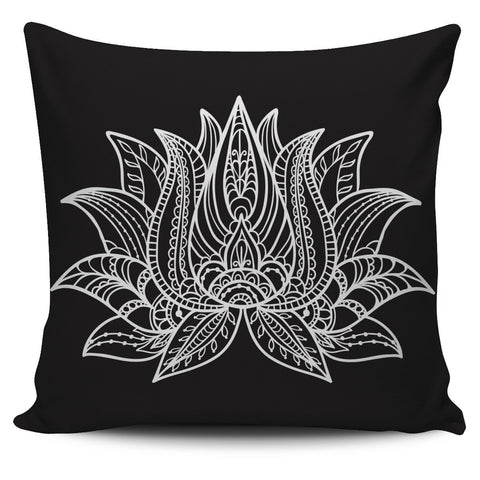 Lotus Pillow Cover
