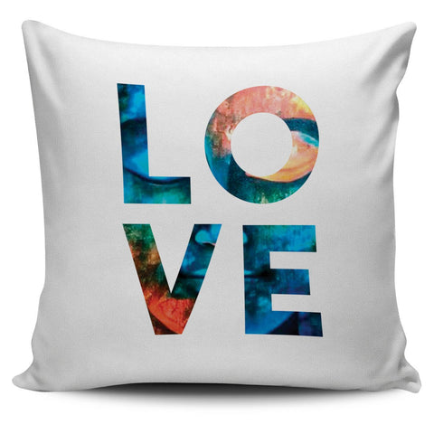 Love Is My Religion Pillow Cover