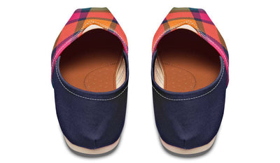 Plaid Color Pink Navy