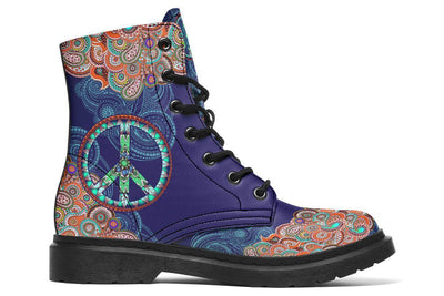 Peace And Mandala Blue