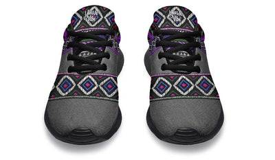 Bohemianism Purple Gray Lines