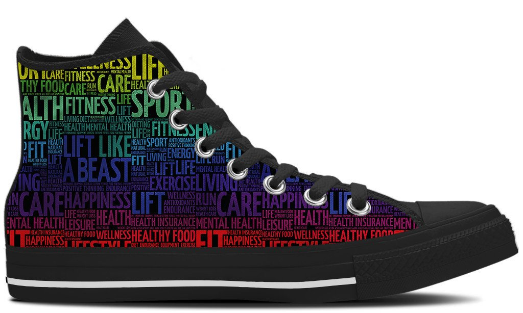 Lifting Words Shoes