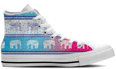 Elephants In Colors Shoes