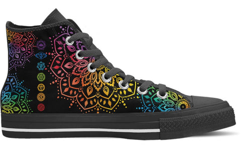Chakra Shoes High Top