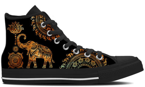 Golden Elephant Shoes