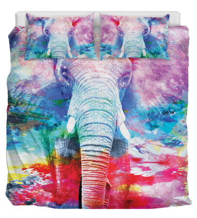 Colorful Elephants