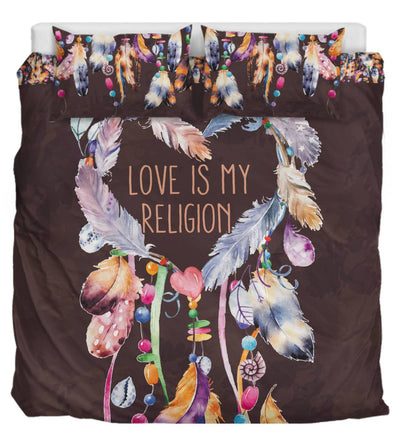 Love Is My Religion Dark Brown