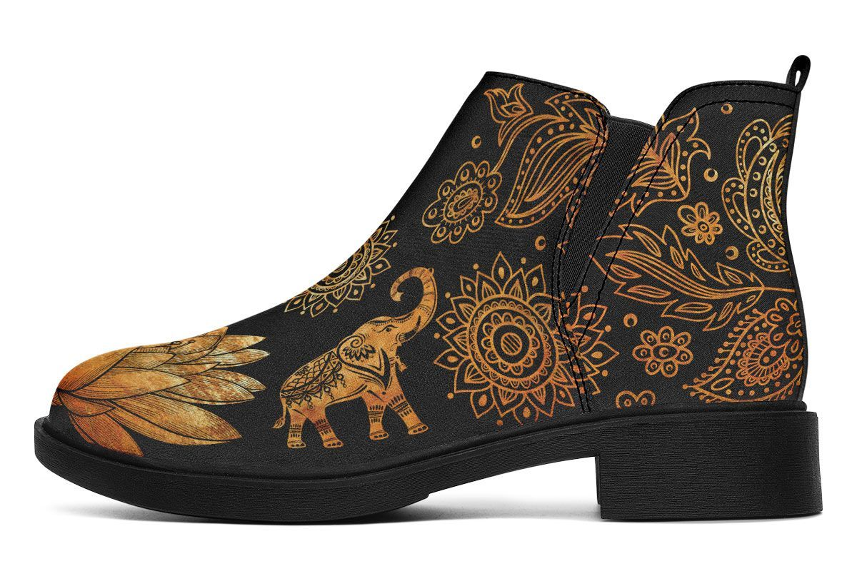 Lotus Elephant Gold