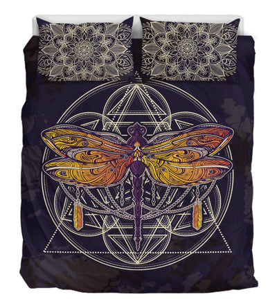 Purple Dragonfly Pentagram