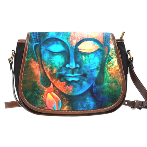 Buddha Art Saddle Bag