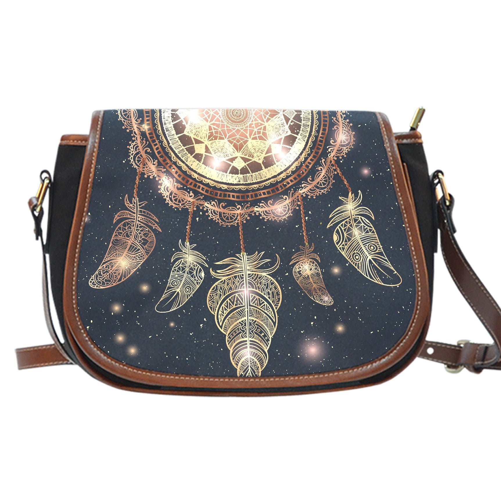 Dream Catcher Saddle Bag