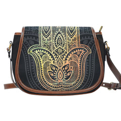 Hamsa Saddle Bag