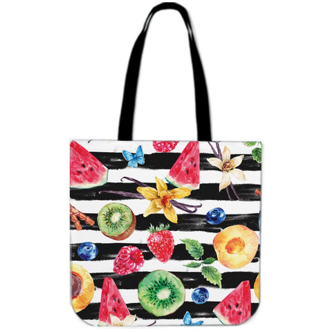 Kiwi and Strawberry Tote