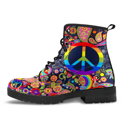 Colorful Hippie Peace