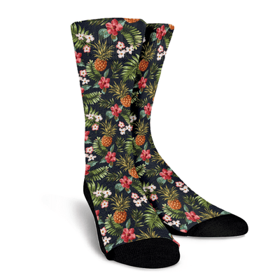 Flower Pine Socks