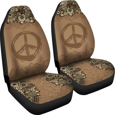 Peace Mandala Brown