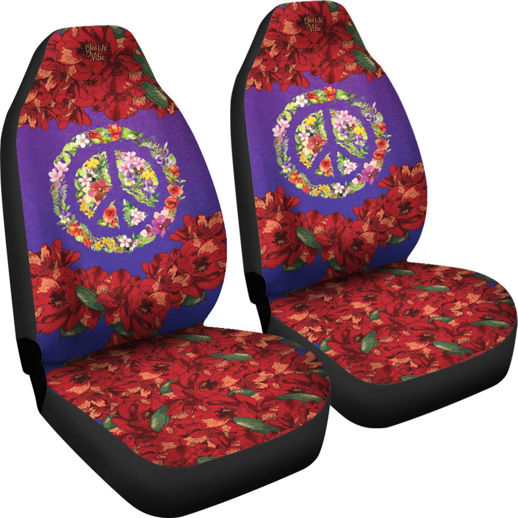 Car Seat Covers Bags Flower Power