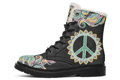 Peace Tribal Black
