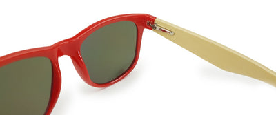 Red Bamboo Sunglasses
