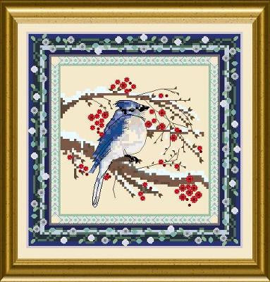 Bird Tapestries - Blue Jay