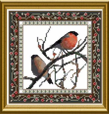 Bird Tapestries - Bullfinch