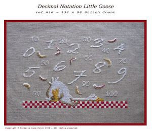 Decimal Notation Little Goose