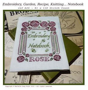 Embroidery Notebook