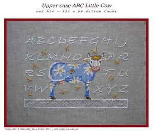 Upper Case ABC Little Cow
