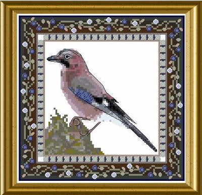 Bird Tapestries - Jaybird