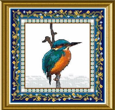 Bird Tapestries - Kingfisher