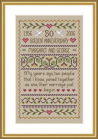 Golden Anniversary Sampler