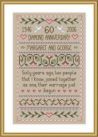 Diamond Anniversary Sampler