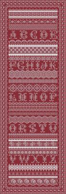 Antique Lace Band Sampler