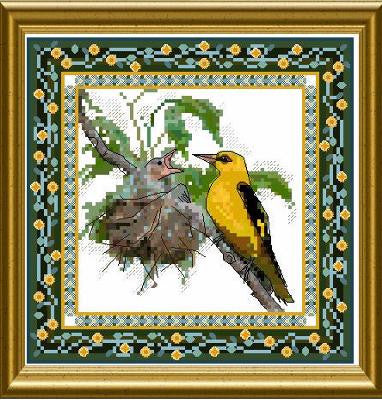 Bird Tapestries - Oriole