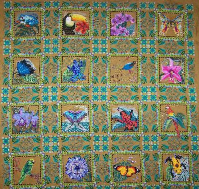 Rainforest Quilt